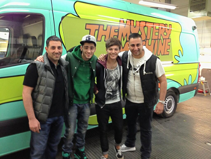 One Direction Want Scooby Doo Bus! | One Direction Fan Club