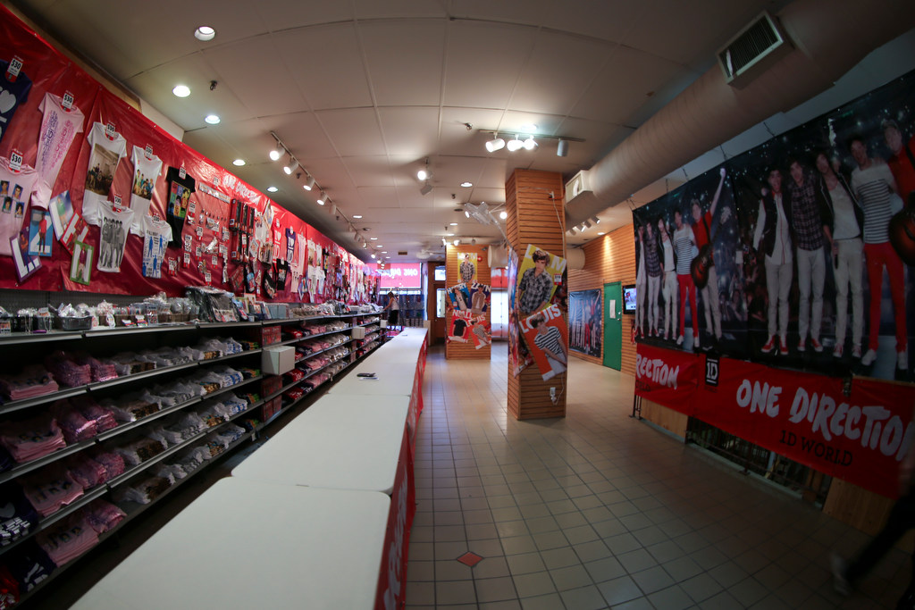 'One Direction - 1D World' Store Opening Toronto